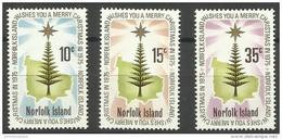Norfolk Island - 1975 Christmas  MNH  **   SG 165-7  Sc 187-9 - Norfolk Island