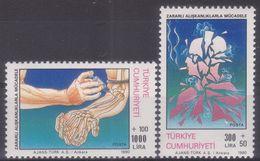 AC - TURKEY STAMP -  STRUGGLE WITH BAD HABBITS MNH 26JUNE1990 - 1921-... République