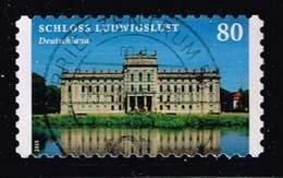 Bund 2015,Michel# 3128 O Schloss Ludwigslust, Selbstklebend - BRD