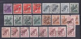 Berlin - 1948 - Michel Nr. 2/3+5/6+9+14 - Gest. - 48 Euro - Gebraucht