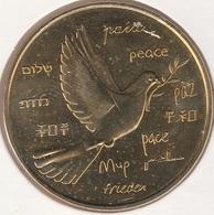 MONNAIE DE PARIS 87 SAINT VICTURIEN - Une Médaille Pour La Paix - JAUNE - 2014 - Monnaie De Paris