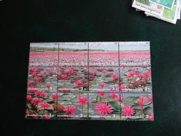 Planche Timbre X 12 - Thaïlande 3 - Fleurs - - Thaïlande