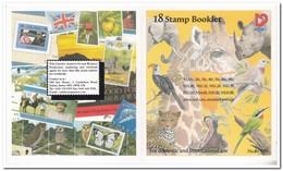Namibië 1997, Postfris MNH, Animals, Flowers ( Booklet, Carnet ) - Namibië (1990- ...)