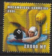 MOZAMBIQUE  N° 1582 * * ( Cote 6e ) Jo 2000 Water Polo Dow - Water Polo