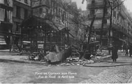 * Carte Photo * EVENEMENT Catastrophe Militaria PARIS 18/04/1919 Raid De GOTHAS (Torpille 300 Kg) Rue De Rivoli CPA 1/2 - Catastrophes