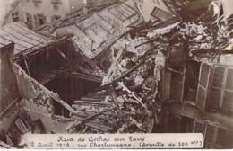* Carte Photo * EVENEMENT Catastrophe Militaria PARIS 18/04/1919 Raid De GOTHAS (Torpille 300 Kg) Rue Charlemagne CPA - Catastrophes
