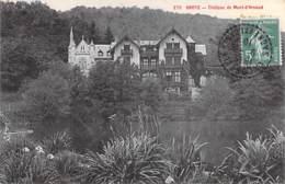 71 - BROYE : Chateau De MONT D'ARNAUD - CPA Village (760 Habitants) - Saône Et Loire - France