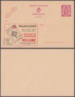 Publibel 612 - 75c  - Thématique Philatéliste (DD) DC3597 - Entiers Postaux