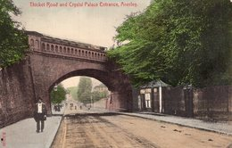 S2196 Cpa Royaume Uni - Thicket Road And Crystal Palace Entrance, Anerley - Autres