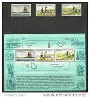 Norfolk Island - 1981 Pitcairn Islanders Migration Set & S/sheet MNH  **   SG 258-61  Sc 277-9a - Norfolk Island