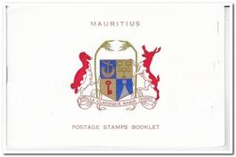 Mauritius 1965, Plakker MH, Complete Set Birds ( Booklet, Carnet ) - Mauritius (1968-...)