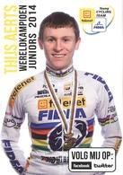 Cyclisme, Thijs Aerts - Cyclisme
