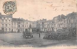 Verdun (55) - La Place Chevert En 1870 - Verdun