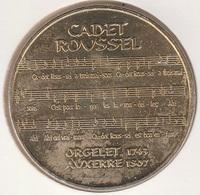 MONNAIE DE PARIS 89 AUXERRE  Cadet Roussel Partition - 2007 - Monnaie De Paris