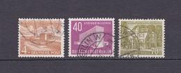 Berlin - 1953/54 - Michel Nr. 112+122/23 - Gest. - 34 Euro - Gebraucht