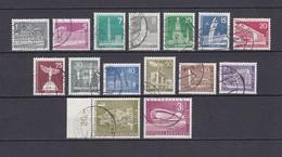 Berlin - 1956/62 - Michel Nr. 140/153 - Gest. - 55 Euro - Gebraucht