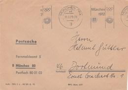 Flamme Münche 1972 Du 30-9-71 - Ete 1972: Munich