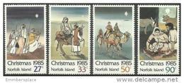 Norfolk Island - 1985 Christrmas MNH  **   SG 374-7  Sc 373-6 - Norfolk Island