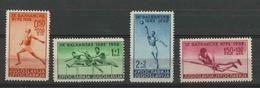 Yugoslavia Kingdom 1938 Sport ☀ The 9th Balkan Games ☀ MNH - Unused Stamps