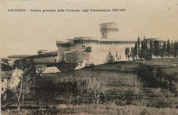 VOLTERRA VEDUTA GENERALE DELLA FORTEZZA  AUTENTICA 100% - Pisa
