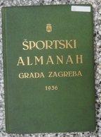 Športski Almanah Grada Zagreba 1936 - Libros