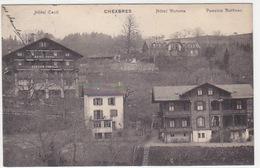 Chexbres - Hotel Victoria - Hotel Cécil - Pension Butticaz - 1915          (P-174-61025) - VD Vaud