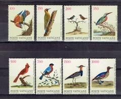 Vatican Série 852-859 Oiseaux - MNH - Vatican