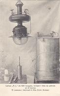 St. Croix - Lampe à Pétrole Fabriqué Par R. Lassueur - 1915  (oblit.Régional)        (P-174-61025) - VD Vaud