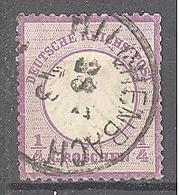 Allemagne: Yvert N° 1°; Belle Oblitération; Cote 120.00€ - Allemagne