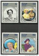 Norfolk Island - 1985 Queen Mother MNH  **   SG 364-7  Sc 364-7 - Norfolk Island