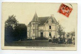 Bergerac Château De Pernard (ou Pechrenard)  Carte Photo - Bergerac