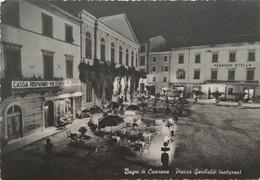 BAGNI DI CASCIANA PIAZZA GARIBALDI    VG  AUTENTICA 100% - Pisa