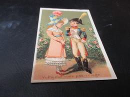 Chromo,  Mercerie, Bonneterie Medes & Lingerie Mathieu Sedan - Trade Cards