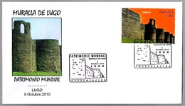 MURALLA ROMANA DE LUGO. Patrimonio Mundial UNESCO. World Heritage. Lugo, Galicia, 2010 - Arqueología