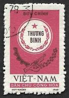 VIETNAM Du NORD 1971 - Franchise  13  - Oblitéré - Viêt-Nam