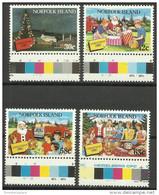 Norfolk Island - 1987 Christmas MNH  **   SG 429-32   Sc 422-5 - Norfolk Island