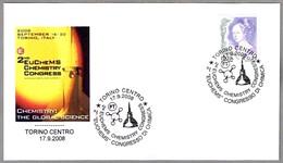 """CONGRESO DE QUIMICA """"EUCHEMS"""" - CHEMISTRY CONGRESS. Torino 2008 - Química"""