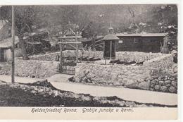 RAVNA GROBLJE JUNAKA U RAVNI HELDENFRIEDHOF RAVNA - Bosnien-Herzegowina