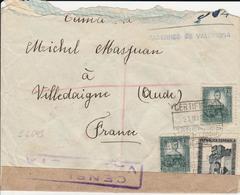 1938 LR De TABERNAS DE VALLDIGNA à VILLEDAIGNE   EL643 - 1931-Hoy: 2ª República - ... Juan Carlos I