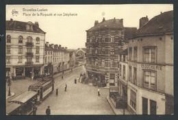 +++ CPA - Brussel - Bruxelles - LAEKEN - Place De La Royauté Et Rue Stéphanie - Tram   // - Laeken
