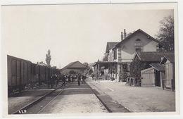 Bière - La Gare Avec Train - Carte Photo        (P-174-61025) - VD Vaud