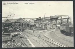 +++ CPA - OUGREE - MARIHAYE - Ponts Et Charpentes - Nels - Usine - Industrie - Cachet Militaire Feldpost   // - Seraing
