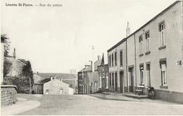 Louette-Saint-Pierre - Rue Du Centre - Pas Circulé - Edit M. Léon Blond Et Godart à Louette-Saint-Piere - Edit. A. Smetz - Gedinne