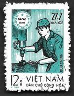 VIETNAM Du NORD 1973 - Franchise  18 - Oblitéré - Viêt-Nam