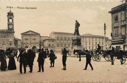PISA PIAZZA GARIBALDI    AUTENTICA 100% - Pisa