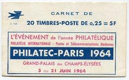 RC 13041 FRANCE N° 1263-C3 CARNET DECARIS S. 9-64 COUVERTURE PHILATEC-PARIS 1964 TB - Definitives