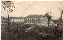 FEIGNIES - Entrée Par La Route De Croix Mesnil - Cachet : Erquelines A Paris     (114569) - Feignies