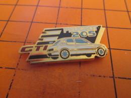 2117 Pins Pin's / Rare & TB état / THEME : AUTOMOBILES / PEUGEOT 205 GTI Par HELIUM PARIS - Peugeot