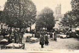 Dol  De  Bretagne -   Le  Marché  Aux  Cochons -   Place  De  L' éperon. - Dol De Bretagne