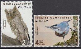 TURKEY.2019 EUROPA CEPT.NATIONAL BIRDS SET 2 ST MNH - 2019